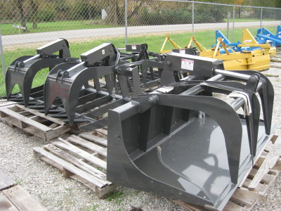 CID Attachments, Quick Tach Skid Steer Root Grapples